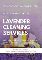 LAVENDER CLEANING SERVICES