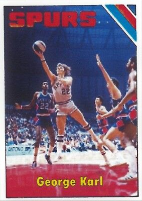 George Karl Old Aba Aceo Art Card      Free Combined Shipping