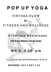 YOGA for FITNESS WELLNESS Unley Unley Area Preview