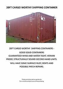Shipping Containers Ex Brisbane 20FT & 40FT Hemmant Brisbane South East Preview