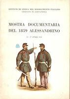 Mostra Documentaria Del 1859 Alessandrino - 12-27 Aprile 1959 Alessandria -  - ebay.it