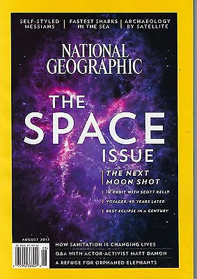 National Geographic The Space August 2017