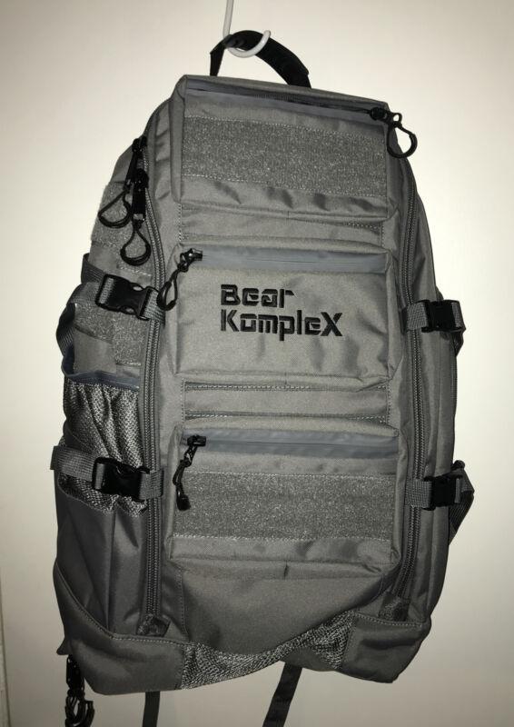 "Bear KompleX BKX Military Tactical Backpack Gray 24""x16"""