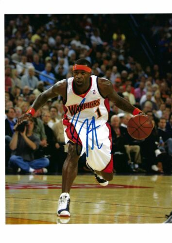 STEPHEN JACKSON AUTO AUTOGRAPHED 8X10 PHOTO SIGNED W/COA GOLDEN STATE WARRIORS