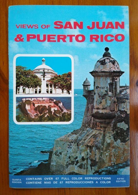 Views of San Juan & Puerto Rico - Vintage Tourist Souvenir Booklet