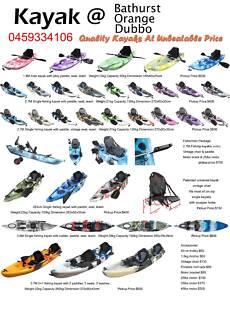 Dubbo kayaks best value fishing kayak on the market