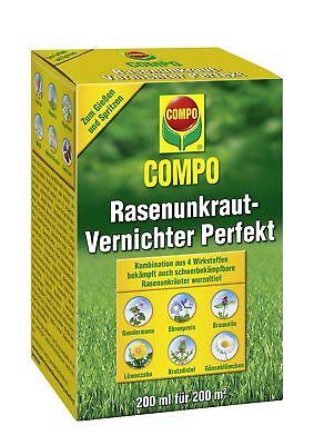 COMPO Rasenunkraut-Vernichter Perfekt 200 ml   Unkrautvernichter