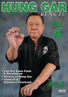 Hung Gar Kung Fu #4 Lau Gar Kuen, history, intricate footwork DVD Buck Sam Kong