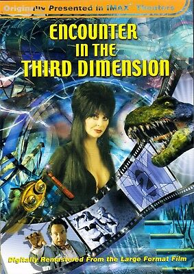 ENCOUNTER IN THE THIRD DIMENSION: 2D & 3D VERSIONS OF ELVIRA IMAX HALLOWEEN FILM - Halloween Imax