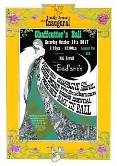 ChaffCutter's Ball - black tie, country dinner / dance near Sedan