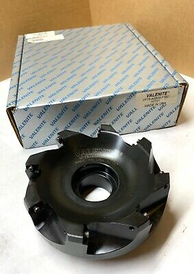 Valenite 6 Indexable Face Mill - Vf75-as600-f150 10t01 - Wwrench - New In Box