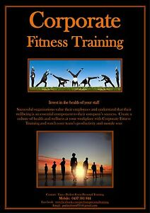 Personal Trainer - CORPORATE FITNESS TRAINING Cooran Noosa Area Preview
