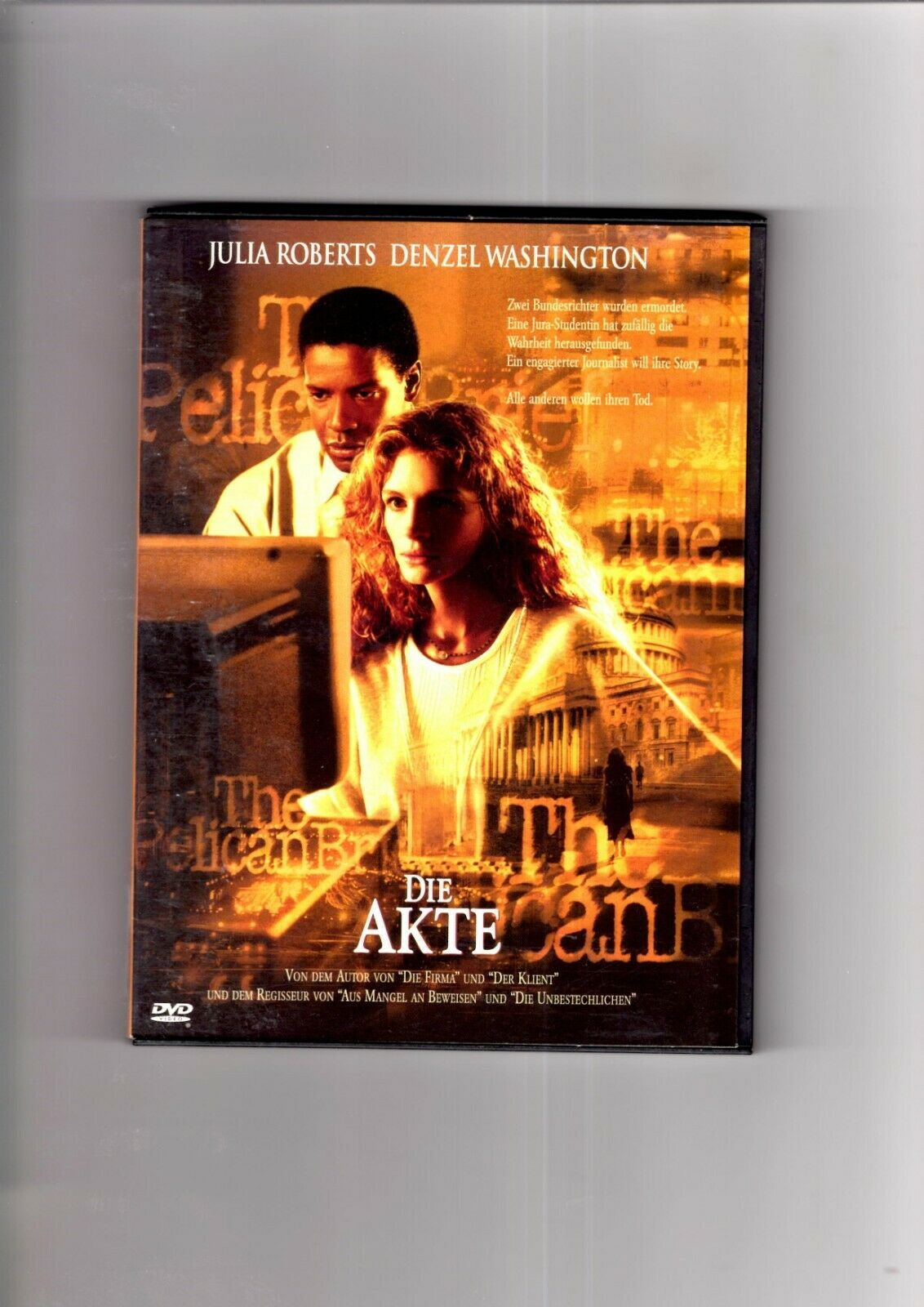 Die Akte - Denzel Washington, Julia Roberts (Snappercase) DVD