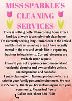 Cleaning in Enfield and Elmsdale areas