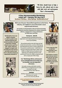 Ian Leighton Horsemanship - Alice Springs Training Workshop Alice Springs Alice Springs Area Preview