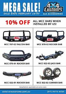 4X4 CUSTOMS 4WD ACCESSORY SALE Capalaba Brisbane South East Preview