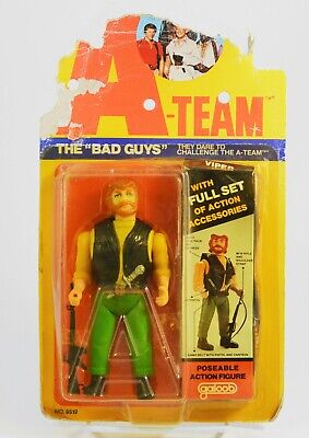 """The A-Team Viper 6"""" Figure The Bad Guys Vintage 1983 Galoob"""
