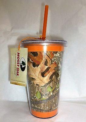 Mossy Oak® SIP-MOO CAMO and Orange Plastic Travel Cup, Mug, Camouflage](Camo Cup)