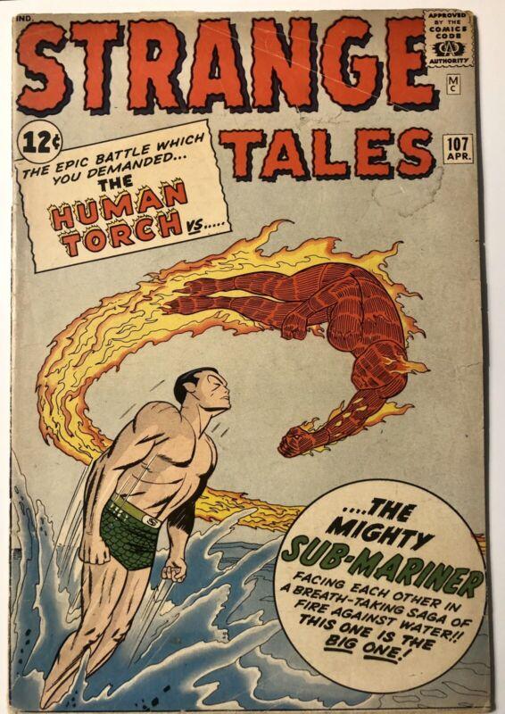 Strange Tales #107 (Classic Namor Cover) - VG