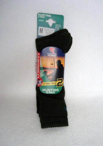 Lorpen Hunting Socks Mens 7.5-9.5 2 Pack Green Wool Blend New