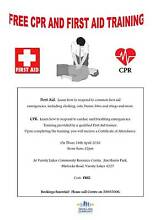 FREE CPR AND FIRST AID TRAINING Varsity Lakes Gold Coast South Preview