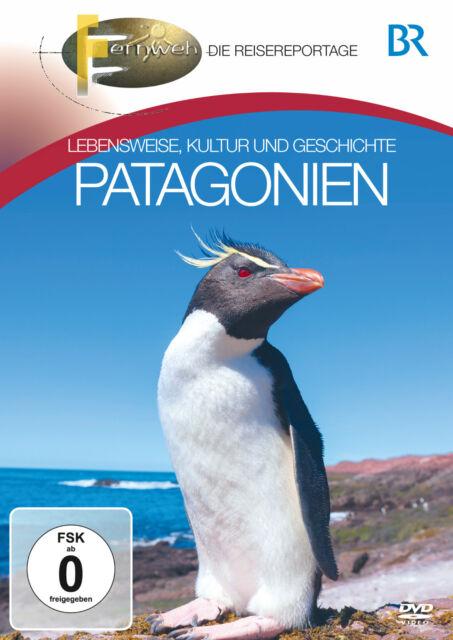 Reise DVD Patagonien BR Fernweh - Der Reiseführer mit InsiderTipps auf DVD