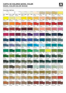 Pick any 5 Vallejo Model Color Paints or Mediums
