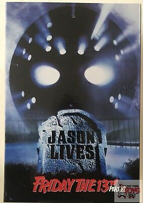 ULTIMATE JASON VOORHEES (Jason Lives) NECA Friday The 13th PART 6 2017 7