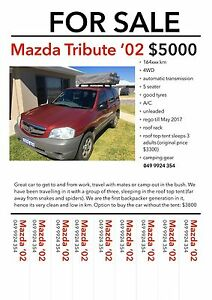 2002 Mazda Tribute Wagon Dunsborough Busselton Area Preview