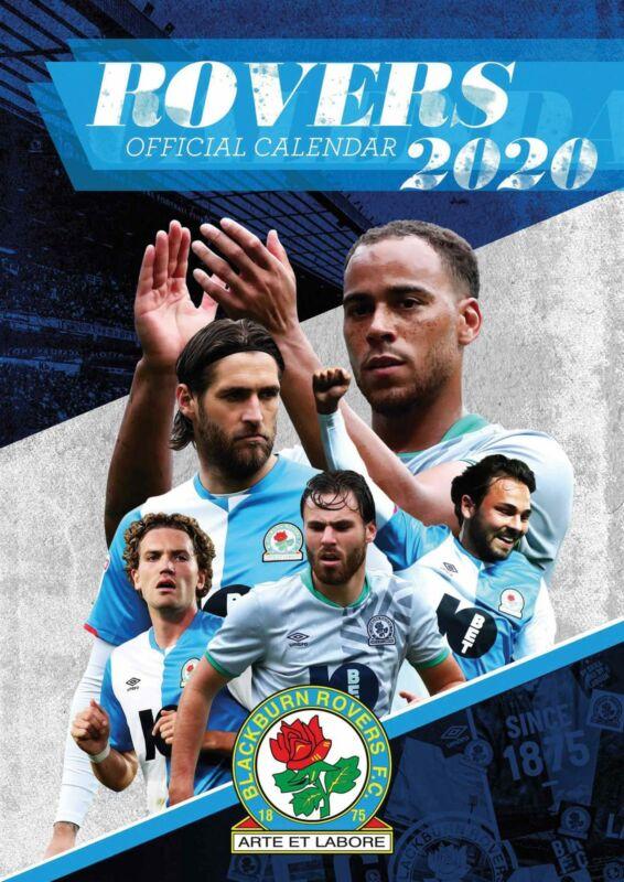 Blackburn+Rovers+FC+2020+Official+A3+Wall+Calendar+Football
