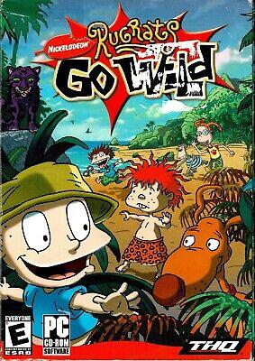 Rugrats Go Wild Pc New Boxed XP Unexplored Island Territory Animals Wild Puzzles