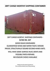 Shipping Containers Ex. Melbourne  20FT & 40FT Port Melbourne Port Phillip Preview