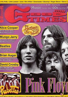*w- GOOD Times - 5/2011 Oktober/November - Pink FLOYD - Heft