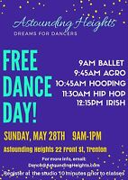 FREE Dance Lessons May 28th