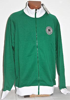 DFB Fußball Deutschland Zipper Jacke weiß grün Kragen XL Fan hochwertig Neu OVP