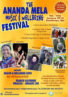 The Ananda Mela Music and Wellbeing Festival Tenterfield Area Preview