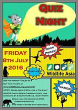 Wildlife Asia Quiz Night South Perth South Perth Area Preview
