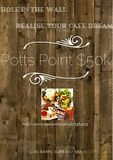 *STUNNING POTTS POINT CAFE*  MAKE AN OFFER Potts Point Inner Sydney Preview