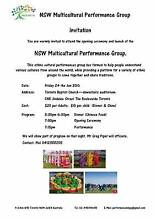 Ethnic Performance & Dinner Toronto Lake Macquarie Area Preview