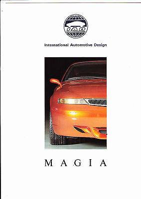LANCIA Magia by IAD  brochure - 1992 - very rare - mint