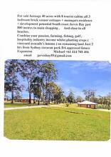 9 HOUSES ON 40 ACRES JERVIS BAY NSW = PLANS TO ADD MORE Sydney City Inner Sydney Preview