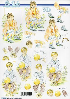 3D Bogen Motivbogen Etappenbogen Grußkarte Bastelbogen Junge / Mädchen (254)
