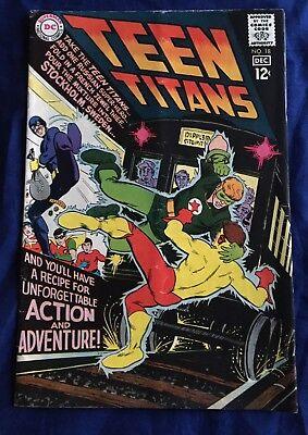 Teen Titans #18 (DC, 1968) FN+