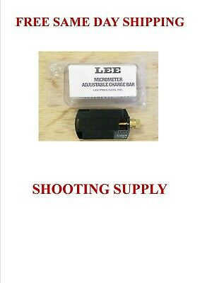lee micrometer adjustable charge bar adjusts between