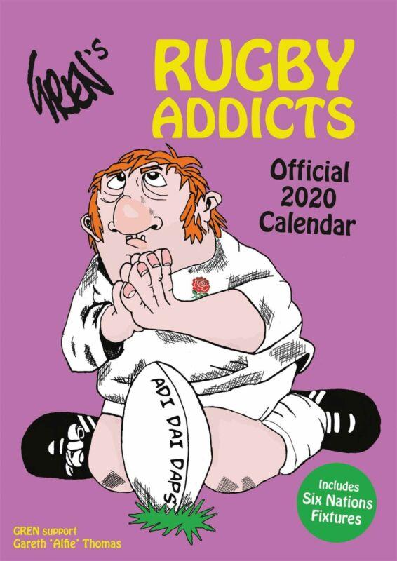 Gren%27s+Rugby+Addicts+2020+Official+A3+Wall+Calendar+Gren+Alfie