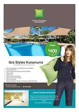 Long Term Hotel Accomodation from $400 P/W Kununurra East Kimberley Area Preview