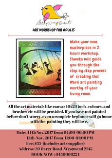 Art Workshop for Adults