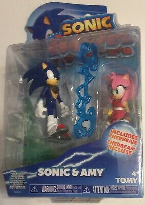 Amy Rose Sonic Boom (SONIC BOOM SONIC & AMY ROSE FIGURE SET WITH ENERBEAM Sonic The Hedgehog 2-pack)