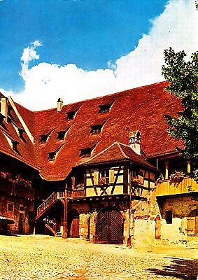 Bamberg , Alte Hofhaltung , Ansichtskarte ; gelaufen