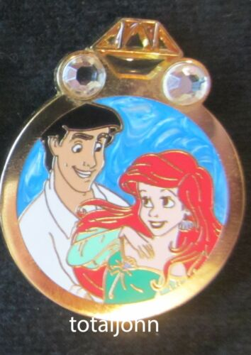 99630 Disney Couples Reveal Conceal Mystery Collection Ariel and Prince Eric Pin